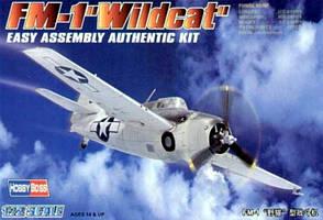 FM-1 Wildcat. Сборная модель самолета. 1/72 HOBBY BOSS 80221