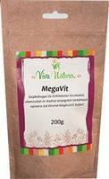 Витаминно минеральный комплекс Мультивит MegaVit с шиповником и эхинацеей для детей Bionet Венгрия - 200 гр