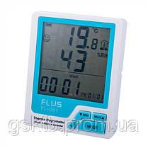 Термогигрометр Flus FL-201 (-20...+60 ºС; 10%…99%), фото 3