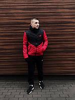 Комплект Куртка Трансформер  + Штаны тёплые Барсетка + перчатки в подарок
