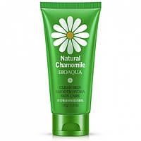 Очищающая пенка для лица с экстрактом ромашки Bioaqua Natural Chamomile Moisturizing Cleanser (100г)