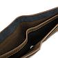 Мужской Кошелек Бумажник Baellerry (D1152) Маленький Искусственная Кожа Коричневый, фото 7