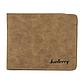 Мужской Кошелек Бумажник Baellerry (D1152) Маленький Искусственная Кожа Коричневый, фото 3