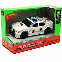 Машинка игровая автопром «Автомобиль ООН», 19х8х7 см, пластик (свет, звук) 7916ABC, фото 2