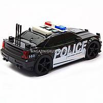 Машинка игровая автопром «Полиция», 19х8х7 см, пластик (свет, звук) 7916ABC, фото 2