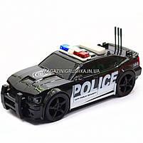 Машинка игровая автопром «Полиция», 19х8х7 см, пластик (свет, звук) 7916ABC, фото 3