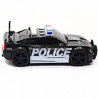 Машинка игровая автопром «Полиция», 19х8х7 см, пластик (свет, звук) 7916ABC, фото 4