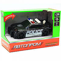 Машинка игровая автопром «Полиция», 19х8х7 см, пластик (свет, звук) 7916ABC, фото 5
