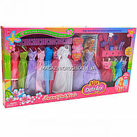 Кукла Defa с набором платьев и аксессуарами, 30 см (8027), фото 1