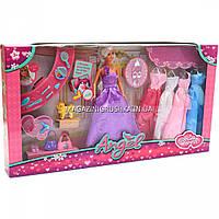 Кукла с набором платьев и аксессуарами, 30 см (K369-16C)