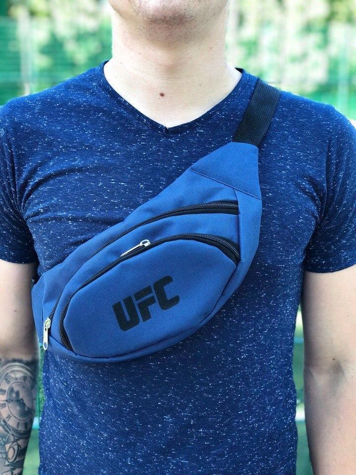 Мужская Бананка UFC синяя