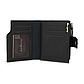 Мужской Кошелек Бумажник Baellerry (D1281) Маленький для Карточек с Монетницей Черный, фото 6