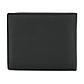 Мужской Кошелек Кожаный Baellerry Simple (G1603) Маленький для Карточек с Монетницей Черный, фото 5