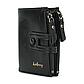 Мужской Кошелек Бумажник Baellerry (D3206) Черный, фото 2
