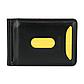 Мужской Зажим для Денег и Карточек на Магните с Монетницей Baellerry (M1001) Черный, фото 3