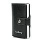 Картхолдер Кредитница с Зажимом для Купюр Baellerry (K9110) Защита от Считывания RFID Черный, фото 2