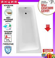 Асимметричная акриловая ванна 150x80см Excellent Ava Comfort WAEX.AVL15WH левосторонняя