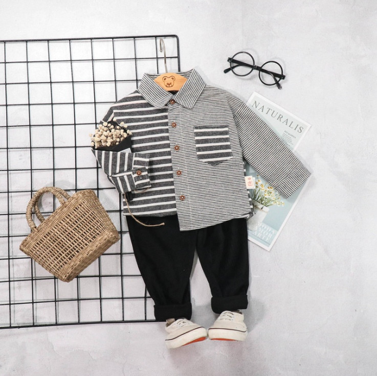 Нарядный костюм двойка на мальчика 1-2 года с рубашкой  весна-осень