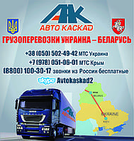Перевозки Ужгород - Гомель, Витебск, Могилёв, перевозка Ужгород - Витебск, Гомель - Ужгород, грузоперевозки