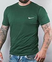 Размеры: 46/48/50/52. Мужская футболка Nike (Найк) | 100 % хлопок - зеленая