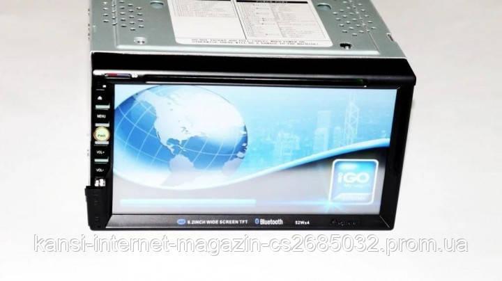 Автомагнітола 2DIN 6910 GPS USB DVD