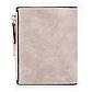 Женский Кошелек Baellerry Mini (N2347) Маленький Замшевый на Кнопке для Карточек Розовый, фото 5