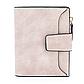 Женский Кошелек Baellerry Mini (N2347) Маленький Замшевый на Кнопке для Карточек Розовый, фото 3