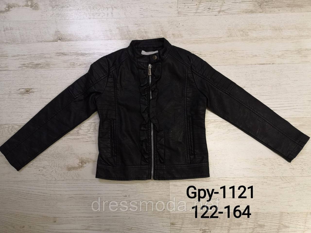 Куртки из кожзама для девочек Glo-Story 122/128-158/164 p.р.