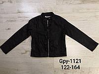 Куртки из кожзама для девочек Glo-Story 122/128-158/164 p.р., фото 1