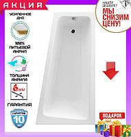 Асимметричная акриловая ванна 150x80см Excellent Ava Comfort WAEX.AVP15WH правосторонняя