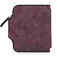 Женский Кошелек Baellerry Forever Mini (N2346) Маленький Замшевый на Кнопке для Карточек Бордовый, фото 5