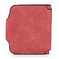 Женский Кошелек Baellerry Forever Mini (N2346) Маленький Замшевый на Кнопке для Карточек Красный, фото 5