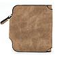 Женский Кошелек Baellerry Forever Mini (N2346) Маленький Замшевый на Кнопке для Карточек Коричневый, фото 5