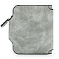 Женский Кошелек Baellerry Forever Mini (N2346) Маленький Замшевый на Кнопке для Карточек Серый, фото 5