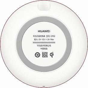 Беспроводное зарядное устройство HUAWEI CP60 Wireless Charger + Type-C White (55030353), фото 2