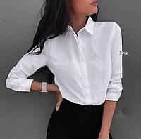 Женская рубашка классика р. S-М и М-L