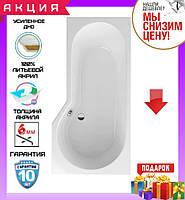 Асимметричная акриловая ванна 160x80 см Excellent Be Spot WAEX.BSP16WH правосторонняя