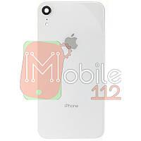 Задняя крышка Apple iPhone XR белая оригинал Китай со стеклом камеры