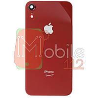 Задняя крышка Apple iPhone XR красный оригинал Китай со стеклом камеры
