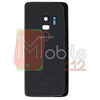 Задняя крышка Samsung G960F Galaxy S9 черный оригинал Китай со стеклом камеры
