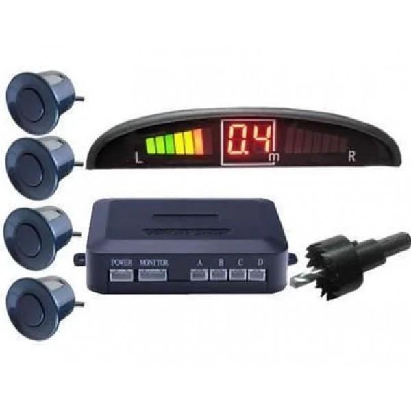 Парковочная система на 4 датчика Assistant Parking Парктроник с LCD монитором