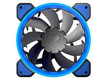 Вентилятор Cougar Vortex FB 120 Blue, 120х120х25 мм, 3pin, 4pin, чорний