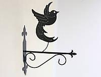 Подставка (крепление) для подвесного цветка Птица 2, фото 1