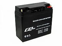 Аккумуляторная батарея аккумулятор Great Power 12В 18Ач, фото 1