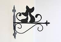 Подставка (крепление) для подвесного цветка Коты 2, фото 1