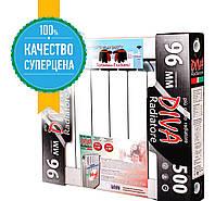 Алюминиевый радиатор 500/96  4 секции Diva