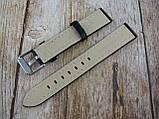 Ремінець шкіряний, ширина - 18мм. Ремінець для годинника, натуральна шкіра., фото 3
