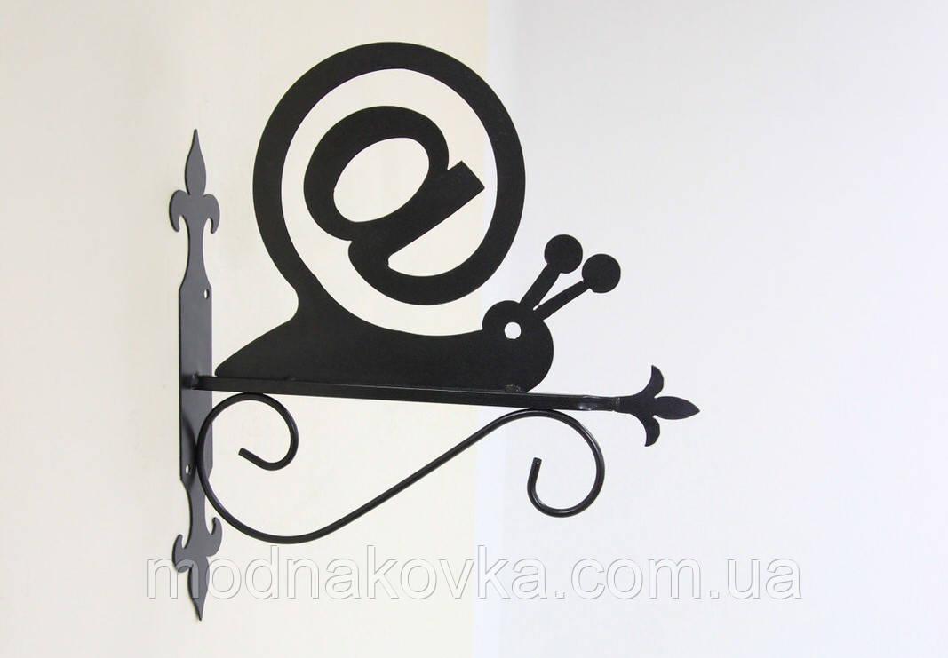 Подставка (крепление) для подвесного цветка Улитка 3