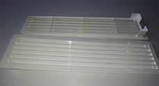 Вентиляционная решетка Домовент ДВ 440/2 решетка для вентиляции пластиковая 440х120 мм, фото 2