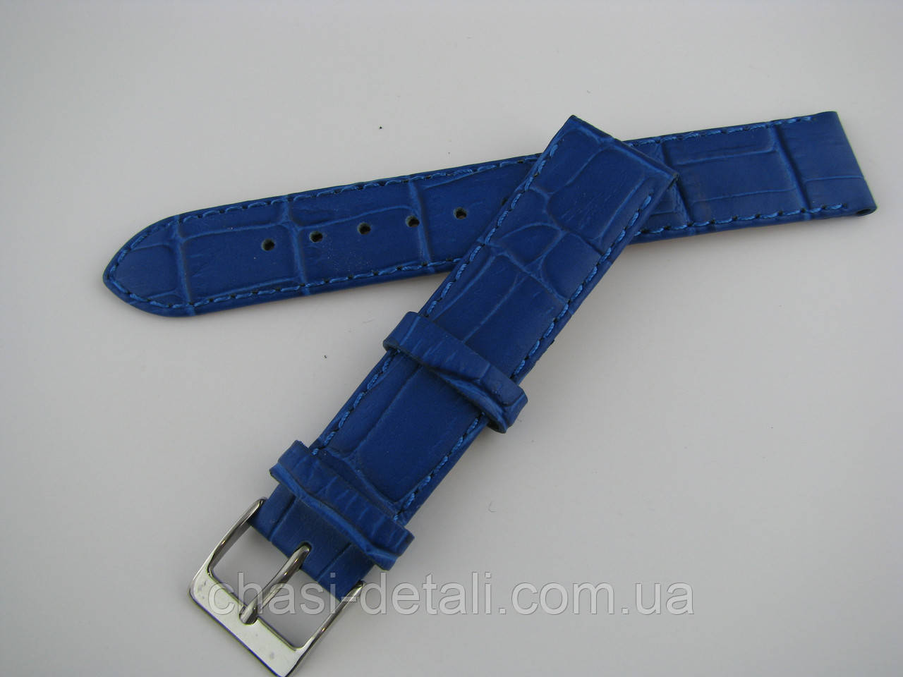 Ремінець шкіряний, ширина - 18мм. Ремінець для годинника, натуральна шкіра.